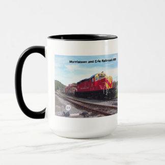 Motor #22 da estrada de ferro de Morristown e de Caneca