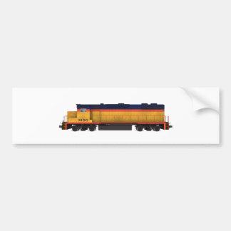 Motor do trem: Esquema de cores do Chesapeake: Adesivo Para Carro