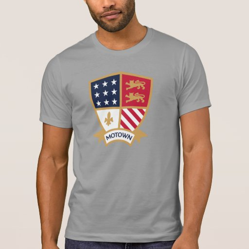 Motown - liga de América - estúdios de PCGD Camiseta