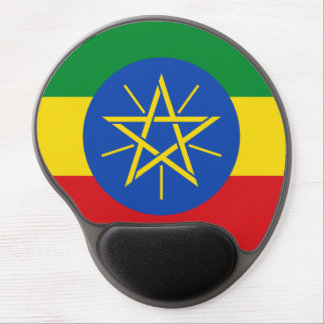 Mouse Pad De Gel Bandeira etíope Mousepad
