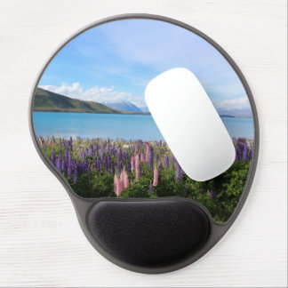 Mouse Pad De Gel Paisagem de Tekapo de Nova Zelândia bonita - lago