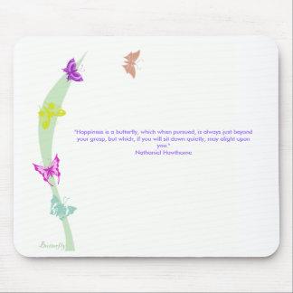 Mousemat da borboleta mouse pad
