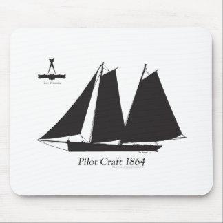 Mousepad 1864 artesanato piloto - fernandes tony