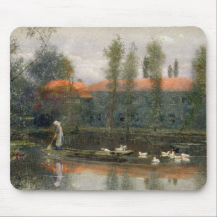 Mousepad A lagoa de William Morris trabalha na abadia de