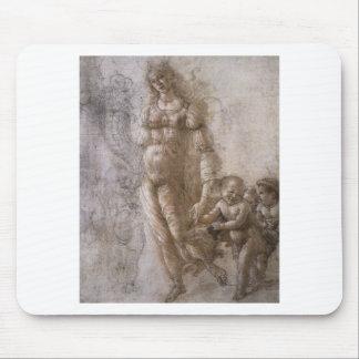 Mousepad Alegoria da abundância por Sandro Botticelli