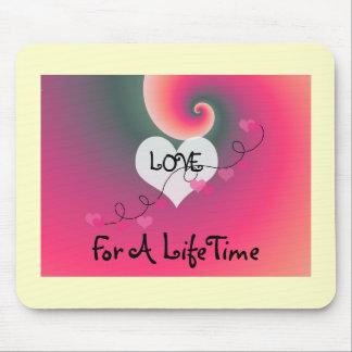 Mousepad Amor por um tempo da vida