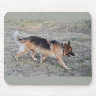 Mousepad Anjo o cão Alsatian