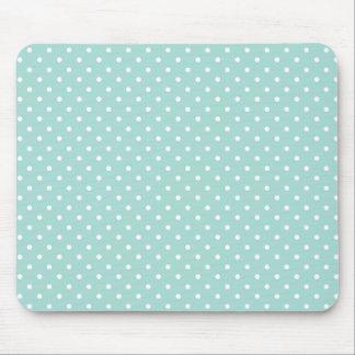 """Mousepad Aqua do """"estilo""""/pontos brancos"""