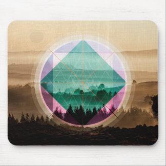 Mousepad Arte da paisagem de Polyscape