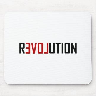 Mousepad Arte do amor da revolução