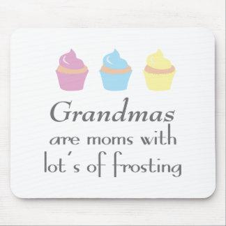 Mousepad As avós são mães com lotes do glacé