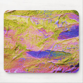 Mousepad azul cor-de-rosa amarelo - customizável