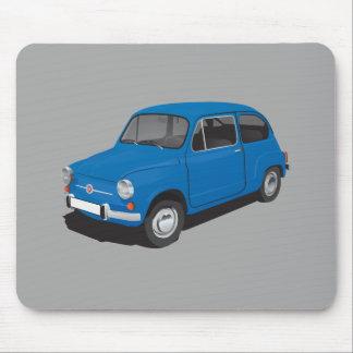 Mousepad Azul de Fiat 600D