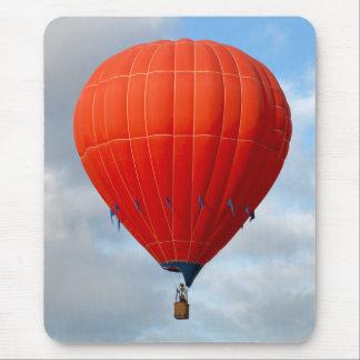 Mousepad Balão de ar quente alaranjado vibrante