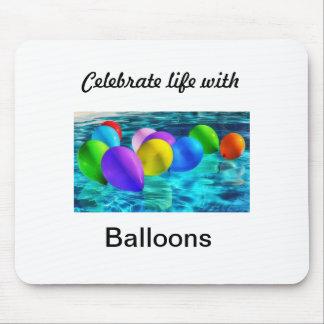 Mousepad balões