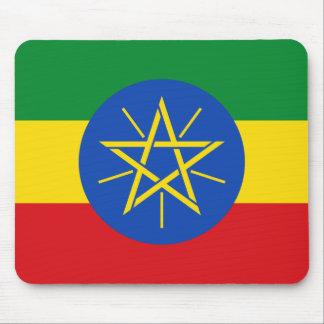Mousepad Bandeira nacional do mundo de Etiópia