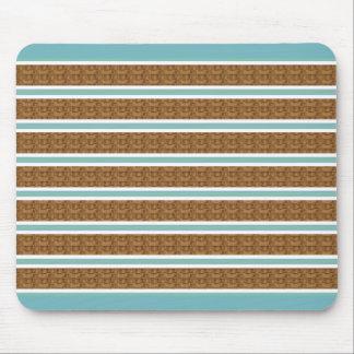 Mousepad Blinds-Blue_Serene_Unisex de madeira