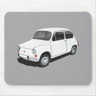 Mousepad Branco de Fiat 600D