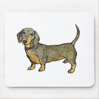 Mousepad cachorro quente do wiener do doxie do dachshund