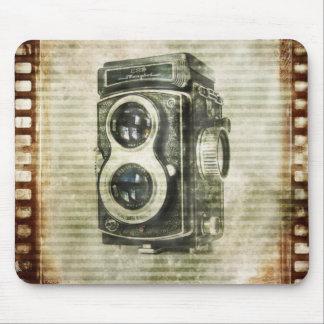 Mousepad câmera do vintage da fotografia do fotógrafo do