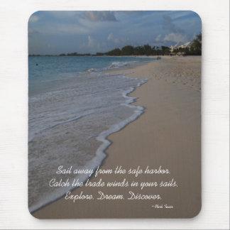 Mousepad Cena inspirada da praia do conselho