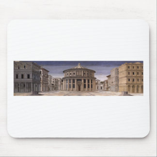 Mousepad Cidade ideal por Piero della Francesca