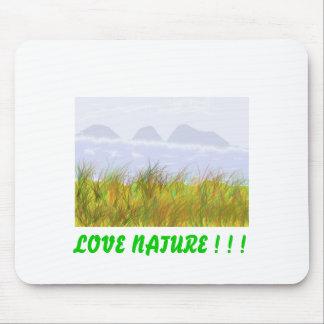 Mousepad com impressão da paisagem