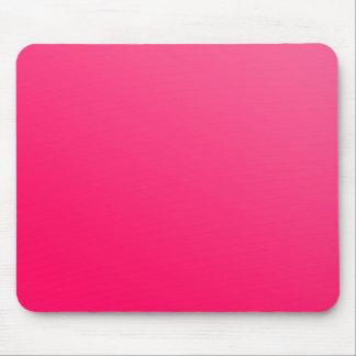 Mousepad cor-de-rosa de néon brilhante quente