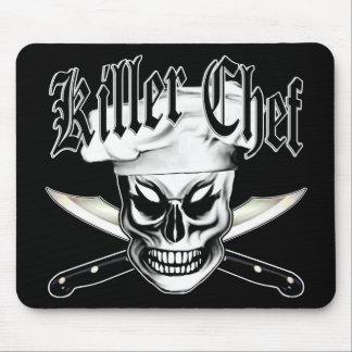 Mousepad Crânio 4 do cozinheiro chefe: Cozinheiro chefe do