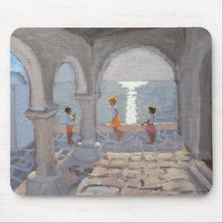 Mousepad Crianças que saltam as ilhas gregas 2008