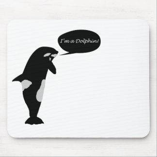 Mousepad Crise de identidade da baleia