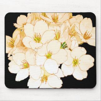 """Mousepad Da """"O próprio natureza"""" floresce todo o pêssego"""