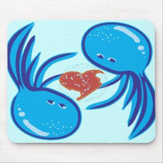 mousepad da parte da bolha do amor das medusa
