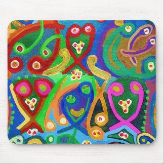 Mousepad Dança do ESPERMA - imaginação sensual do artista