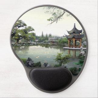 Mousepad De Gel Arquitetura e paisagem asiáticas bonitas