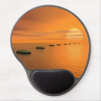 Mousepad De Gel Etapas ao sol - 3D rendem