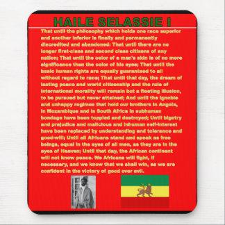 Mousepad Discurso famoso da guerra de Haile Selassie a UN