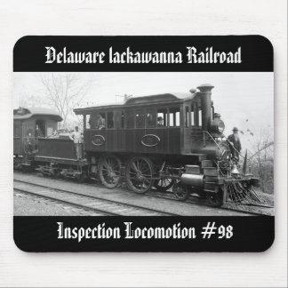 Mousepad DL+ Locomotiva da inspeção do vapor de W