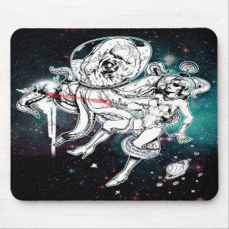 Mousepad do pintinho e do polvo do espaço
