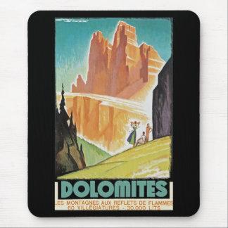 Mousepad Dolomites