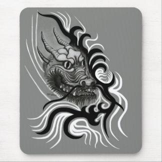 Mousepad dragão de china em Tatto Style