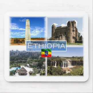 Mousepad E Etiópia - Obelisk de Aksum - castelo de