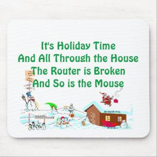 Mousepad É tempo do feriado…