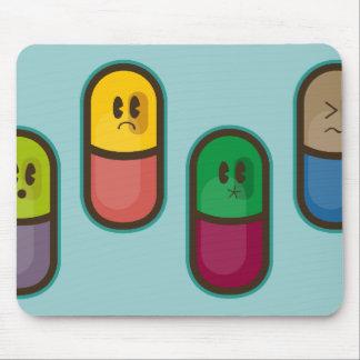 mousepad engraçado dos comprimidos