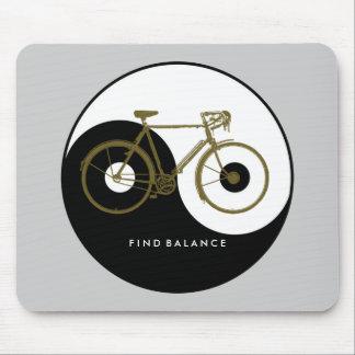 Mousepad EQUILÍBRIO do ACHADO/bicicleta yang do yin