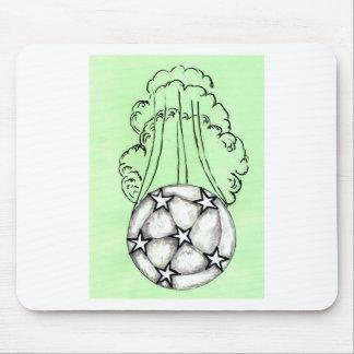 Mousepad Esboço 3 da bola de futebol