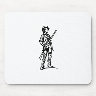 Mousepad Esboço do Minuteman