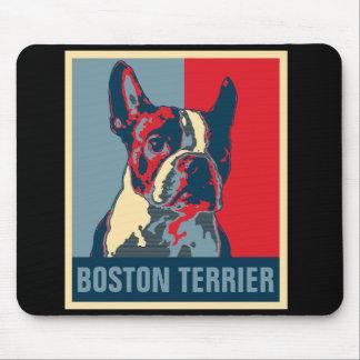 Mousepad Esperança de Boston Terrier inspirada