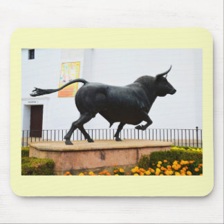 Mousepad Estátua de um touro