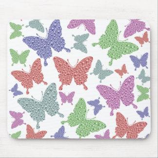Mousepad Esteira do rato - coleção sazonal das borboletas